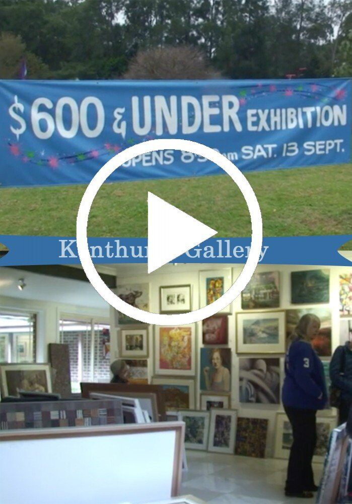 Kenthurst Galleries $600 and under show (VIDEO)