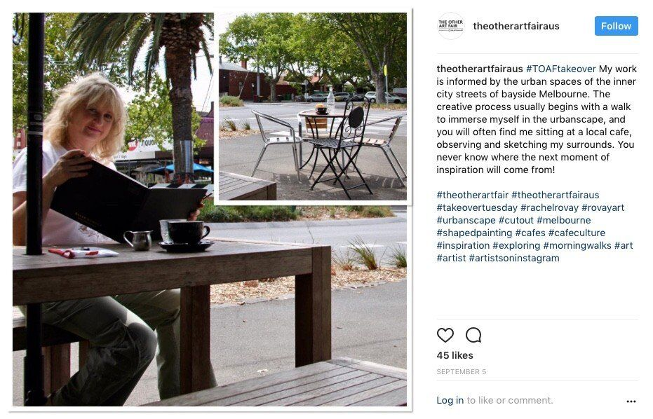 The Other Art Fair Instagram Takeover - Post 2