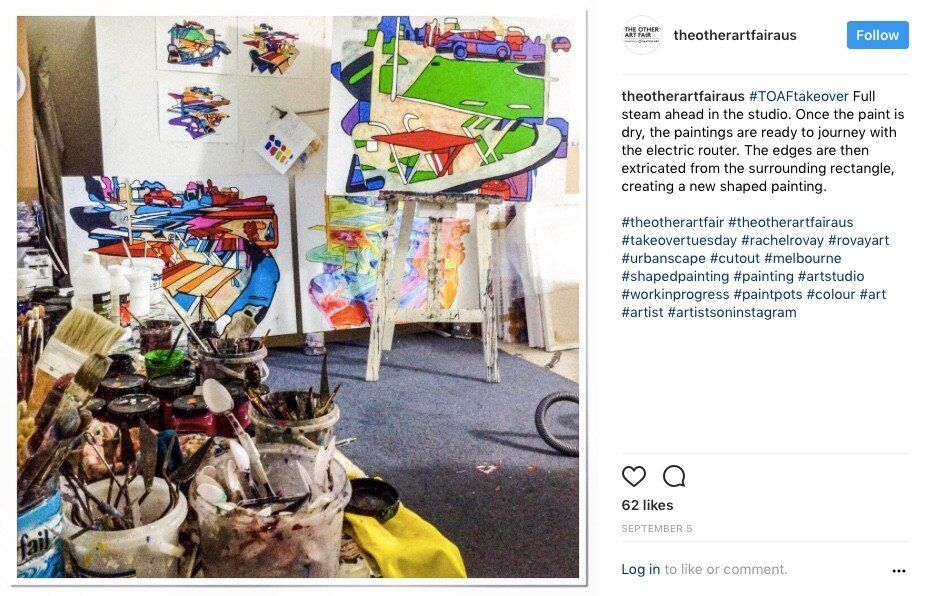 The Other Art Fair Instagram Takeover - Post 5