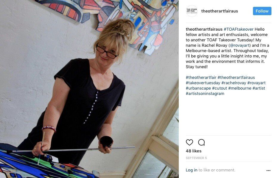 The Other Art Fair Instagram Takeover - Post 1