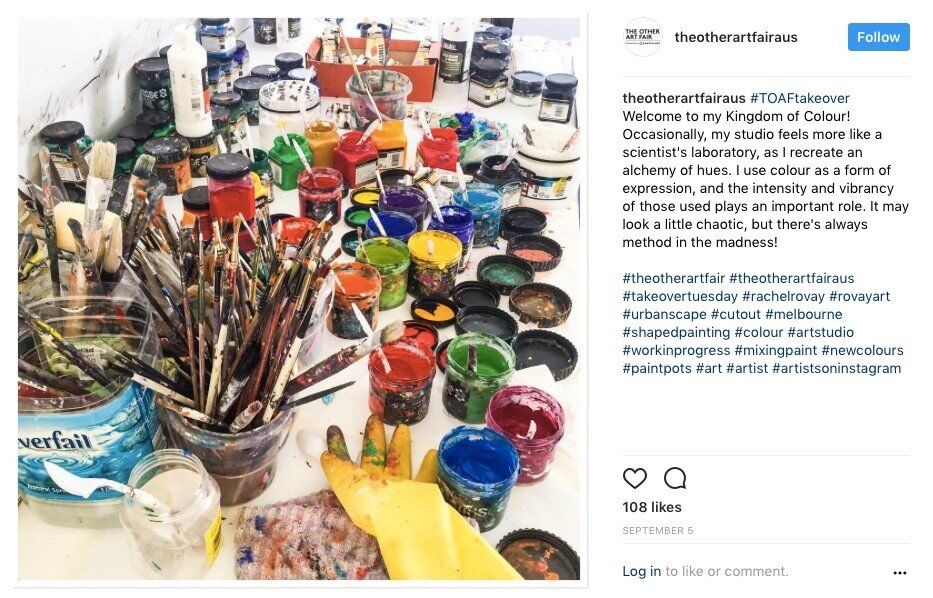 The Other Art Fair Instagram Takeover - Post 4
