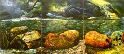 Resurrection - Restoration (Port Phillip Bay) (triptych)