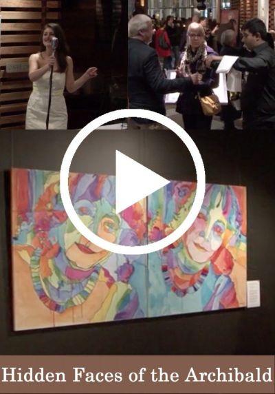 Hidden faces of the Archibald (VIDEO)