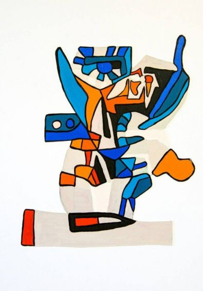 Table Blossom (after Picasso)