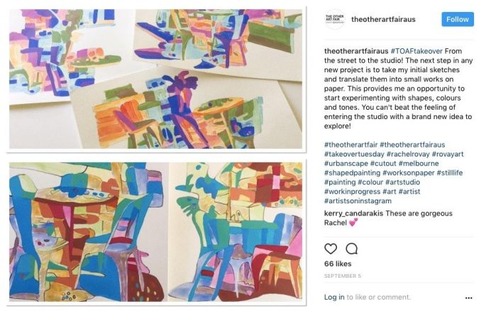 The Other Art Fair Instagram Takeover - Post 3