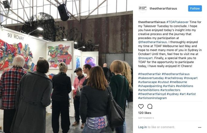 The Other Art Fair Instagram Takeover - Post 8