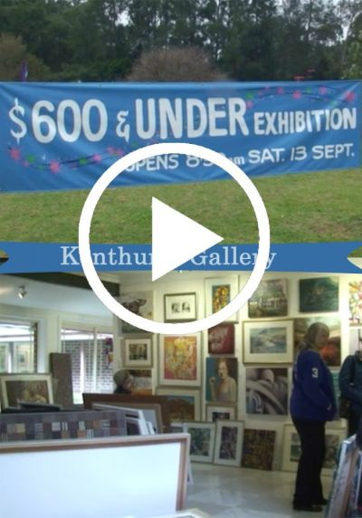 Kenthurst Galleries $600 and under show (VIDEO)